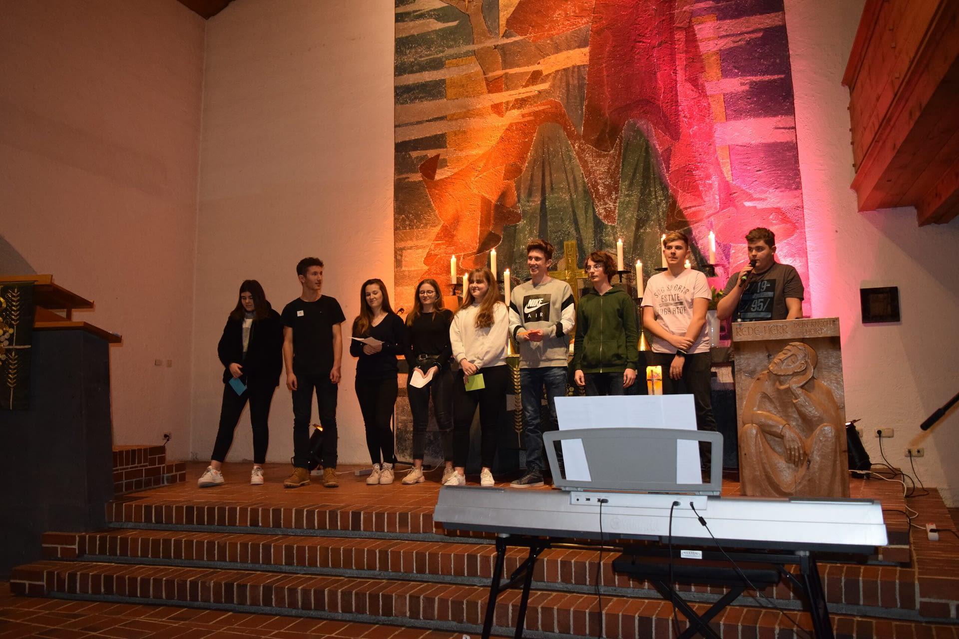 Jugendgottesdienst in Oberstdorf